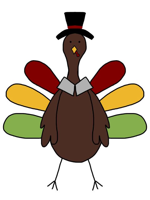 Turkey feet clipart outline picture freeuse download Wild Turkey Clip Art | Clipart Panda - Free Clipart Images picture freeuse download