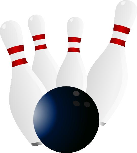 Bowling turkey clipart svg transparent stock Bigger Pins Clip Art at Clker.com - vector clip art online, royalty ... svg transparent stock