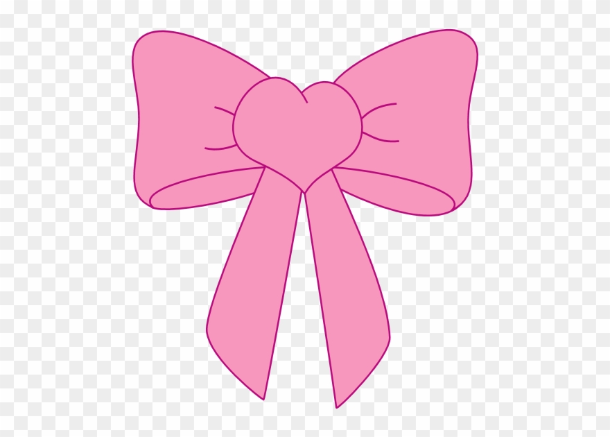 Clipart bows free library Pink Bow Clip Art Transparent Png Bows And - Cartoon Girl Bow Tie ... free library