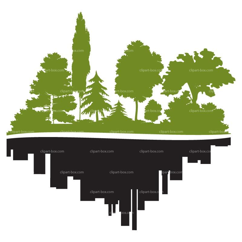 Box city clipart picture download forest in the city clipart - Google Search   Wall Mural Ideas ... picture download