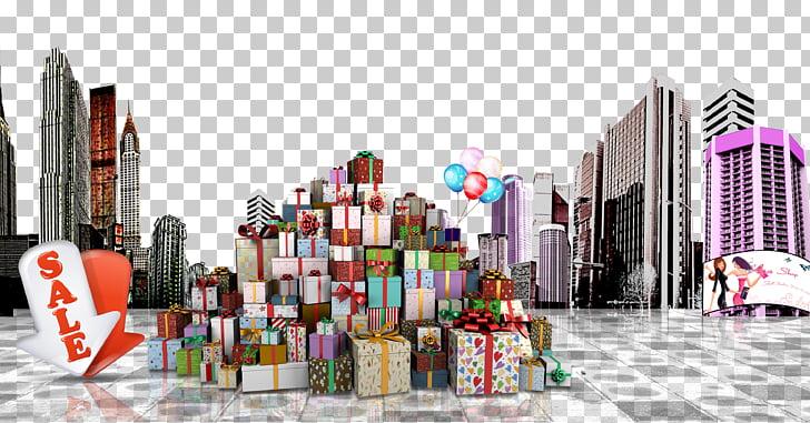 Box city clipart image freeuse stock Gift Poster Box, City gift box PNG clipart   free cliparts   UIHere image freeuse stock