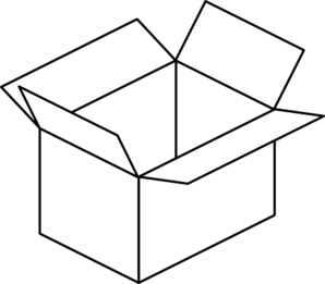 Box images clipart graphic stock Carton Open Box Clip Art at Clker.com - vector clip art online ... graphic stock