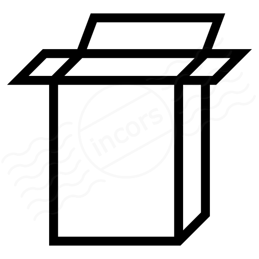 Box clipart icon vector royalty free library IconExperience » I-Collection » Box Tall Icon vector royalty free library