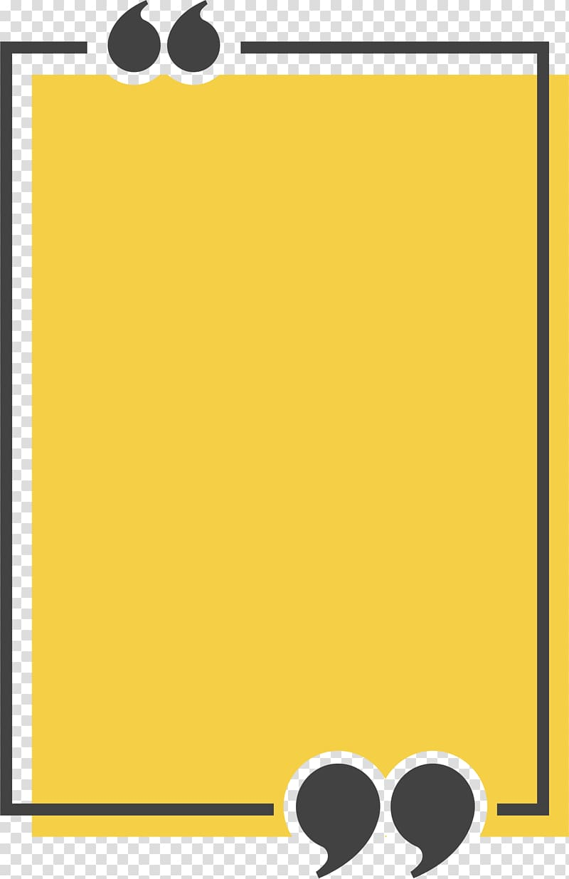 Box clipart icon graphic freeuse Congee Text box Quotation Icon, Yellow rectangle title box, yellow ... graphic freeuse