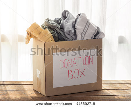 Box filled with newspaper clipart clip art transparent download Donation Box Stock Photos, Royalty-Free Images & Vectors ... clip art transparent download