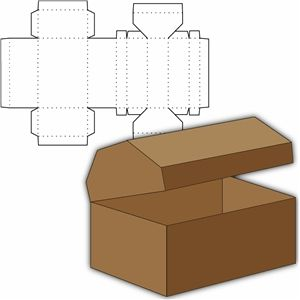 Box filled with newspaper clipart clipart stock 17 Best ideas about Treasure Boxes on Pinterest | Retro trailers ... clipart stock