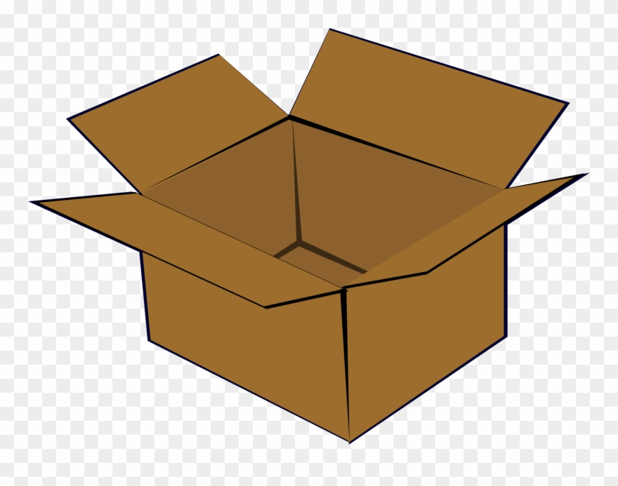 Box images clipart clip art freeuse stock Big Image - Cardboard Box Clipart (#153657) - PinClipart clip art freeuse stock