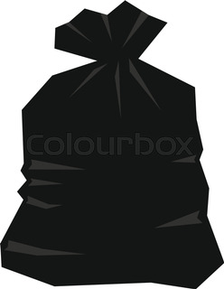 Black bags of garbage clipart vector royalty free stock Trash Bag Clipart | Free download best Trash Bag Clipart on ... vector royalty free stock