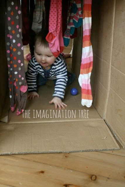 Box tunnel clipart freeuse download Baby Play: Cardboard Box Play Tunnel   Babywearing & Cloth Diapers ... freeuse download
