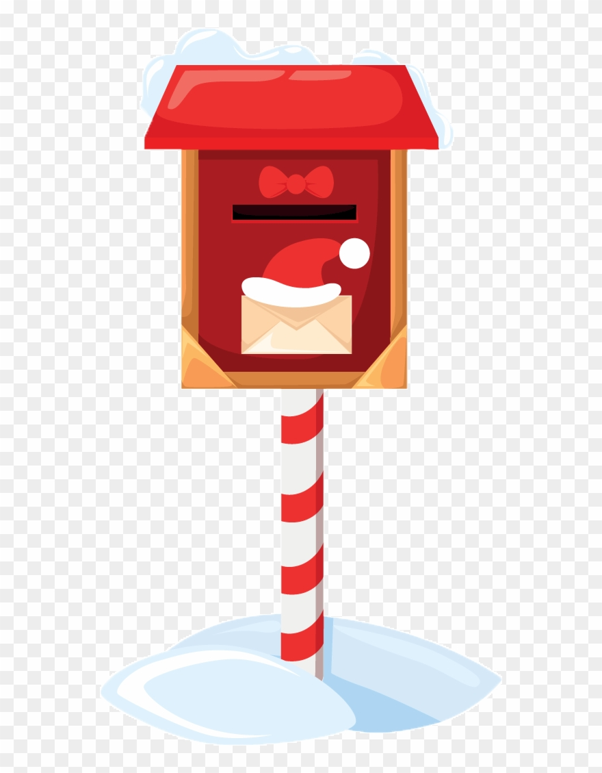 Box with letters clipart clip art free library Letters Dropped In These Decorated Mailboxes By The - Santa Claus ... clip art free library
