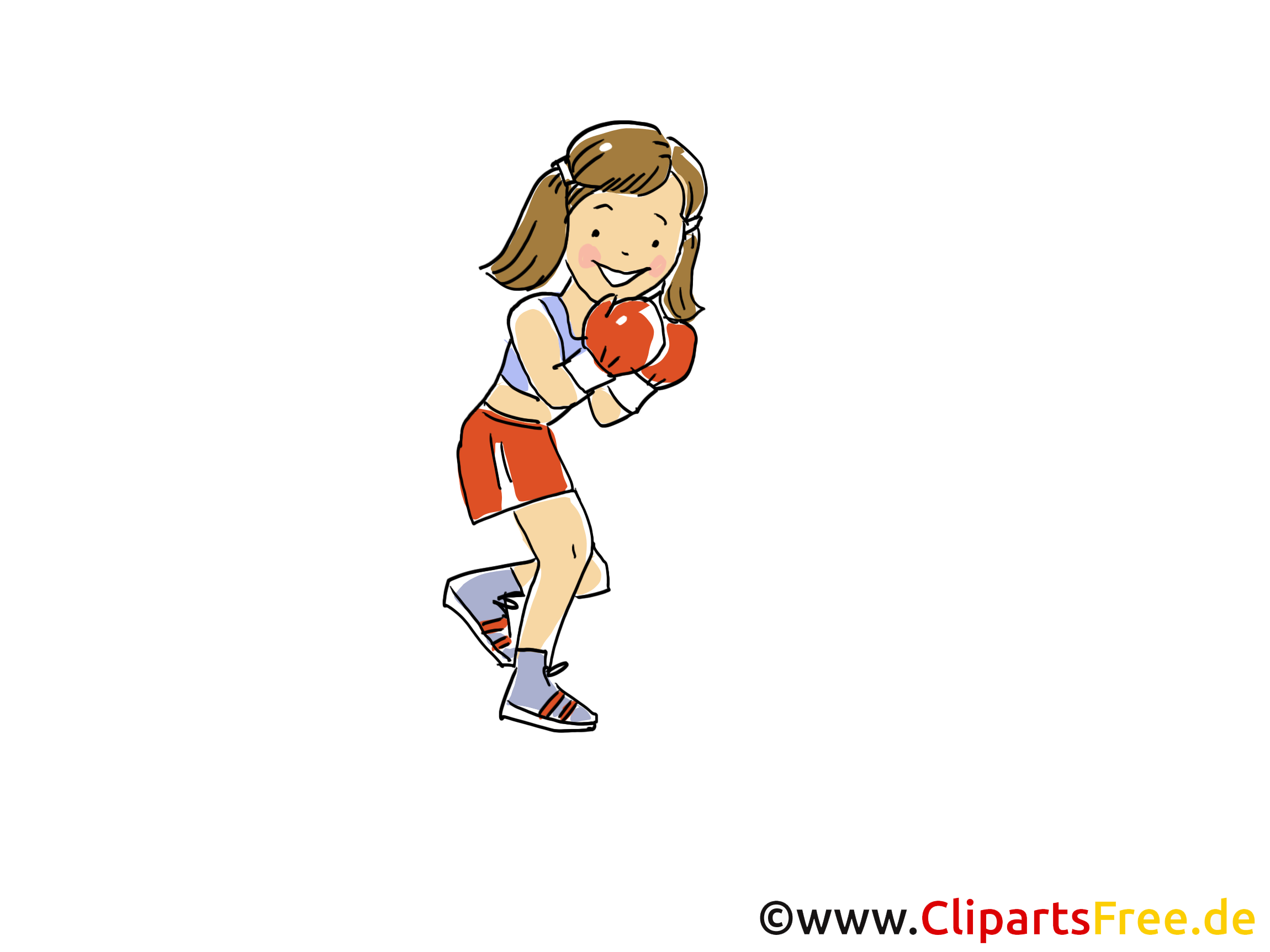 Boxen frau clipart png royalty free Sport Bilder, Cliparts, Cartoons, Grafiken, Illustrationen, Gifs ... png royalty free