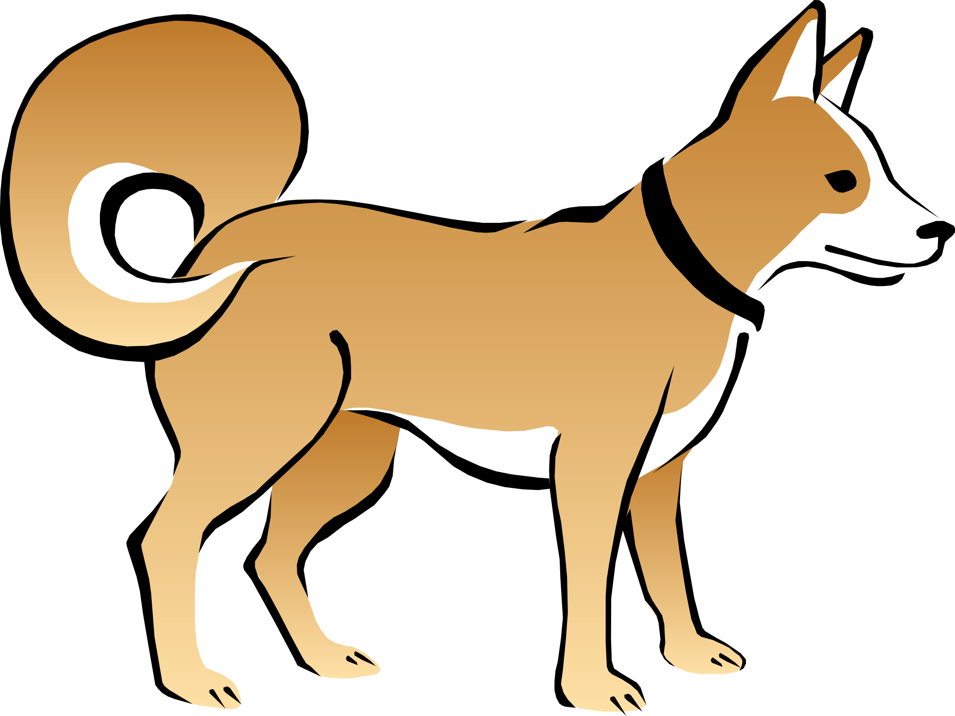 Dog pooping clipart transparent Dog · ClipartHot transparent