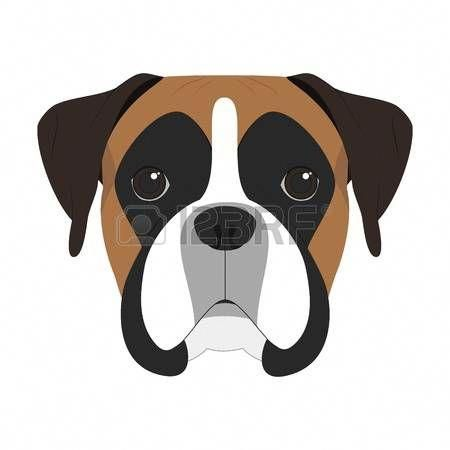 Boxers dogs clipart banner black and white Image result for boxer dog clipart #boxers   Dream dog <3   Dog ... banner black and white
