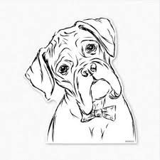 Boxers dogs clipart clipart free library boxer dog clipart - Google Search   Boxer Dogs   Boxer dog tattoo ... clipart free library