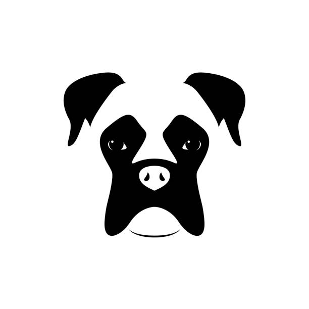 Boxers dogs clipart image library download Boxer Dog Clipart Black And White (101+ images in Collection) Page 1 image library download