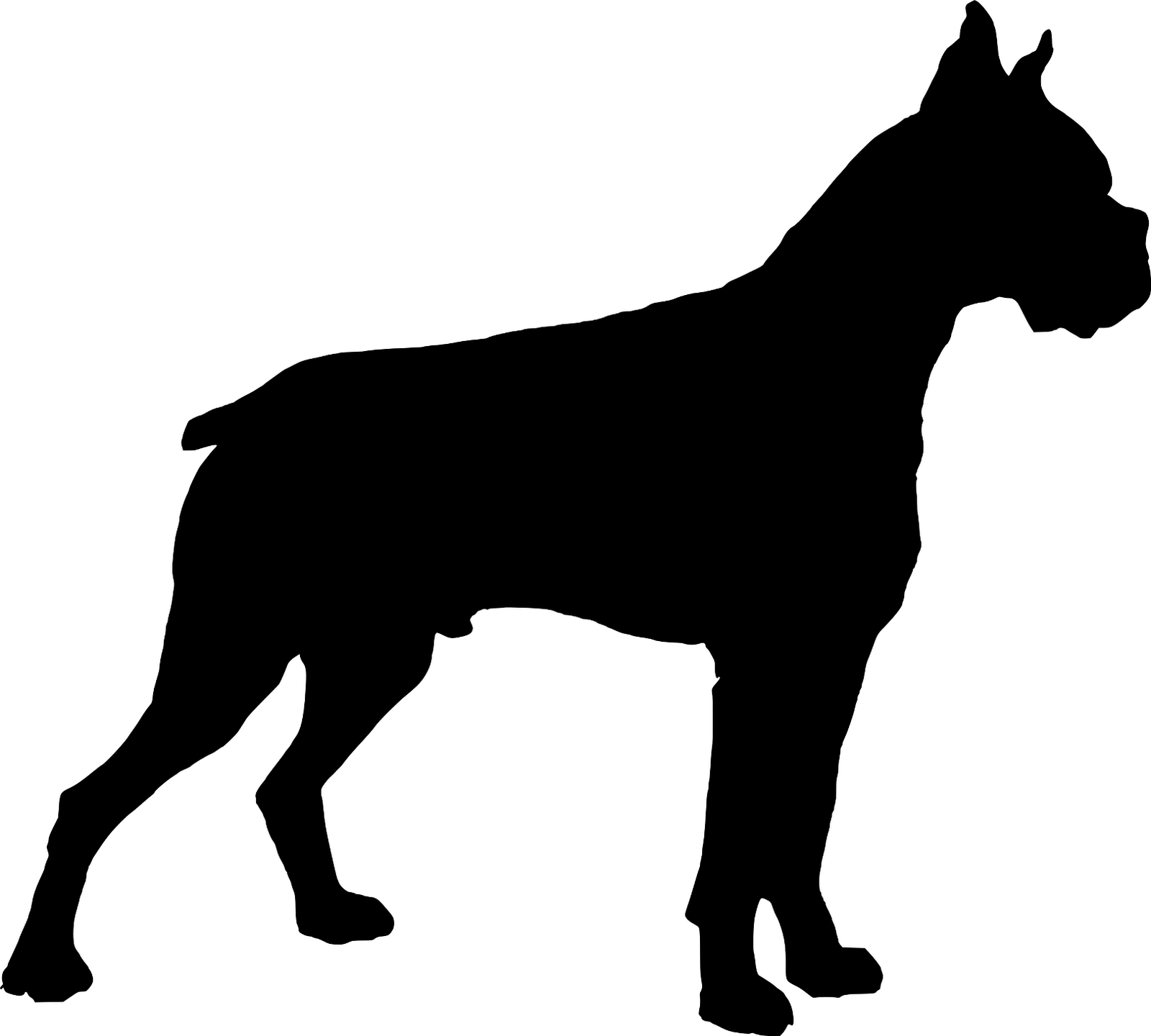 Boxers dogs clipart image download Boxer Dog Clipart Dog Image Dog Image - Clip Art Library image download