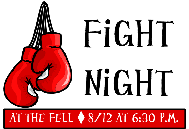 Boxing turkey clipart jpg transparent Event - Fight Night at the Fell - MoreThanTheCurve jpg transparent