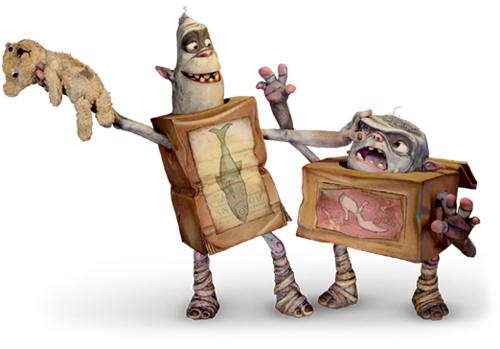 Boxtrolls clipart svg royalty free download boxtrolls | Christmas ideas in 2019 | Puppets, Movie crafts ... svg royalty free download