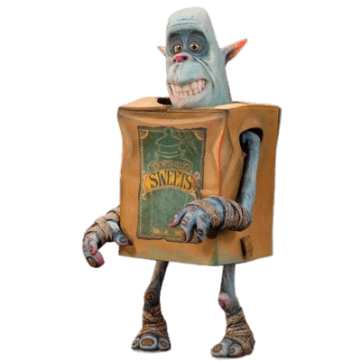 Boxtrolls clipart image free Boxtroll Sweets Smiling transparent PNG - StickPNG image free