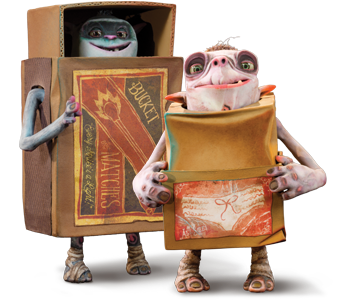 Boxtrolls clipart png black and white Clipart for u: The boxtrolls png black and white