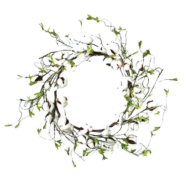 Boxwreath clipart vector transparent library Green Leaf Wreath Cheap Artificial Silk Flower Piece Wedding Home ... vector transparent library