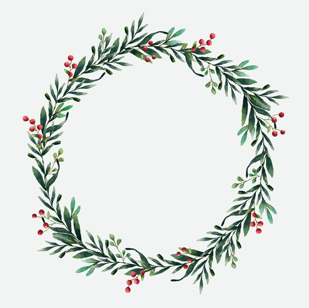 Boxwreath clipart png transparent library Christmas Wreath Vectors, Photos and PSD files | Free Download png transparent library