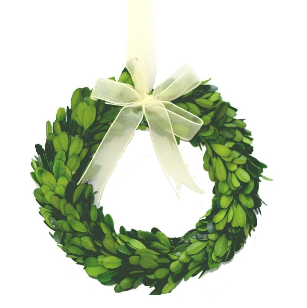 Boxwreath clipart image freeuse library Decor: Appealing Artificial Boxwood Wreath For Your Doors Decor ... image freeuse library