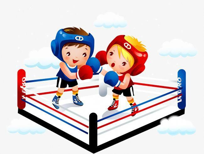 Boxxing clipart picture black and white library Vector,child,The ring,Fighting,hand-painted vector,boxing vector ... picture black and white library