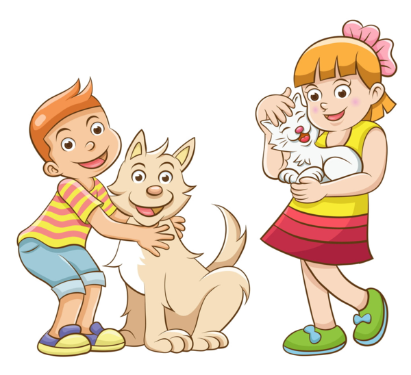 Boy and cat clipart graphic freeuse personnages, illustration, individu, personne, gens | Kids ... graphic freeuse