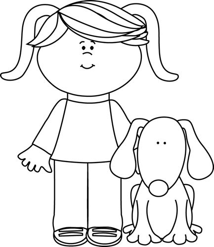 Boy and dog clipart black and white picture royalty free stock Free Pat Dog Cliparts, Download Free Clip Art, Free Clip Art on ... picture royalty free stock