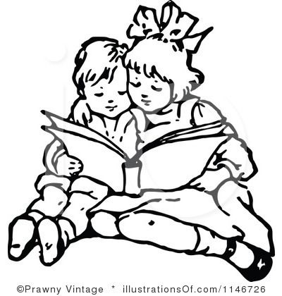 Boy and girl reading clipart black and white svg free Boy Reading Clipart Black And White | Clipart Panda - Free Clipart ... svg free