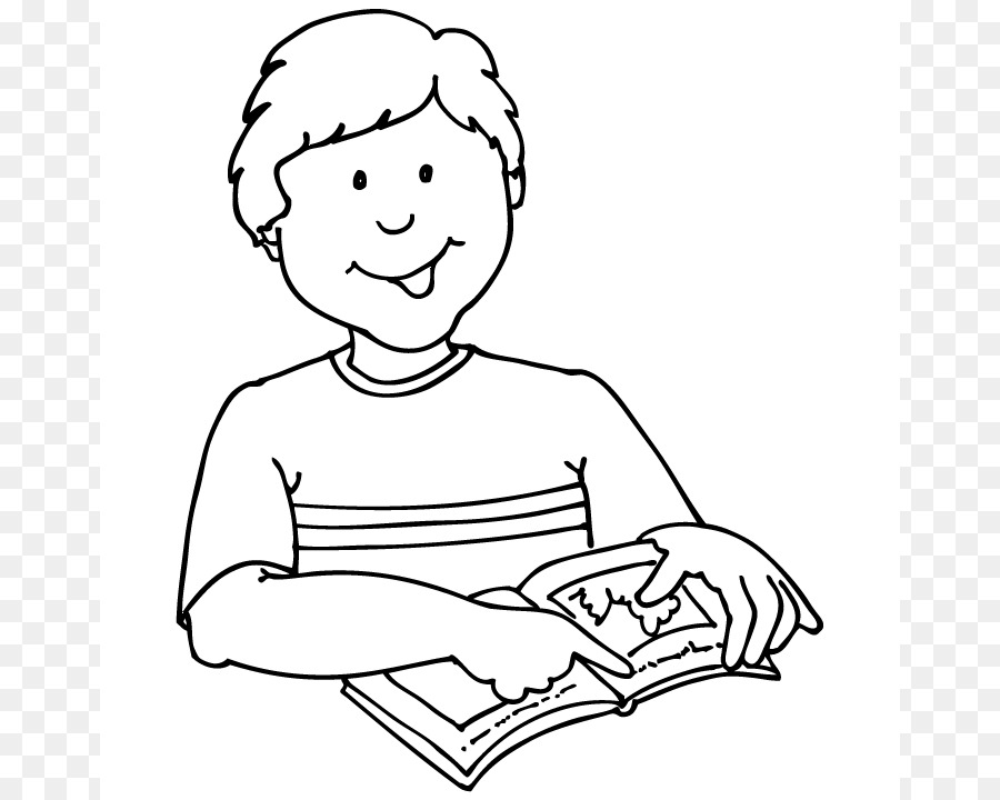 Boy and girl reading clipart black and white clip black and white library Boy Reading Black And White Png & Free Boy Reading Black And White ... clip black and white library