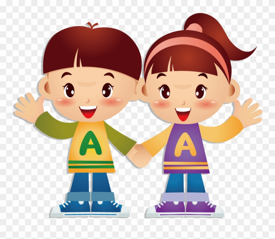 Cartoon boy girl clipart image freeuse download Cartoon Twin Brother Transprent Png Free Download - Twins Boy Girl ... image freeuse download