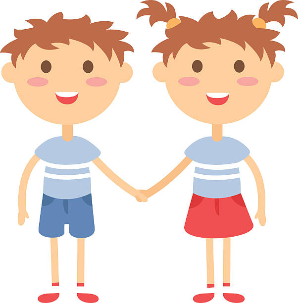 Boy and girl twins clipart picture free library Twins Clipart Group with 84+ items picture free library