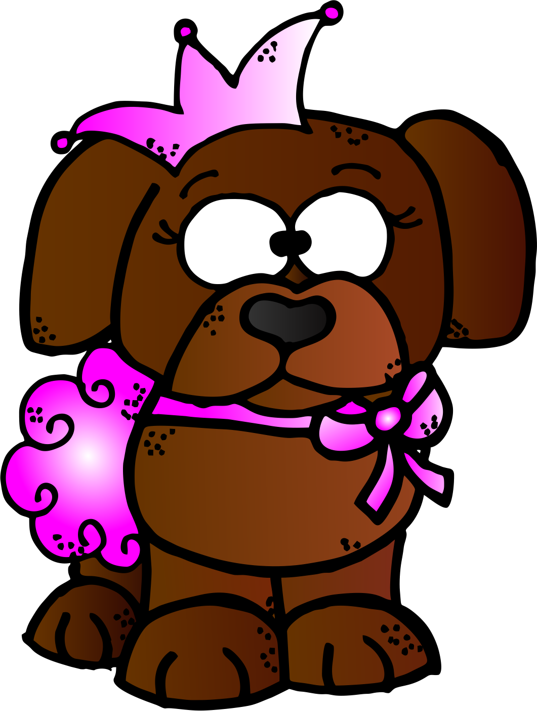 Cute dog clipart free png royalty free WorksheetJunkie: Free Dog Clipart! png royalty free