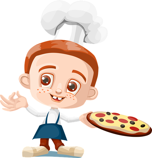 Boy giving money to lady clipart jpg freeuse Free Image on Pixabay - Cook, Boy, Kid, Pizza, Holding | Pinterest jpg freeuse