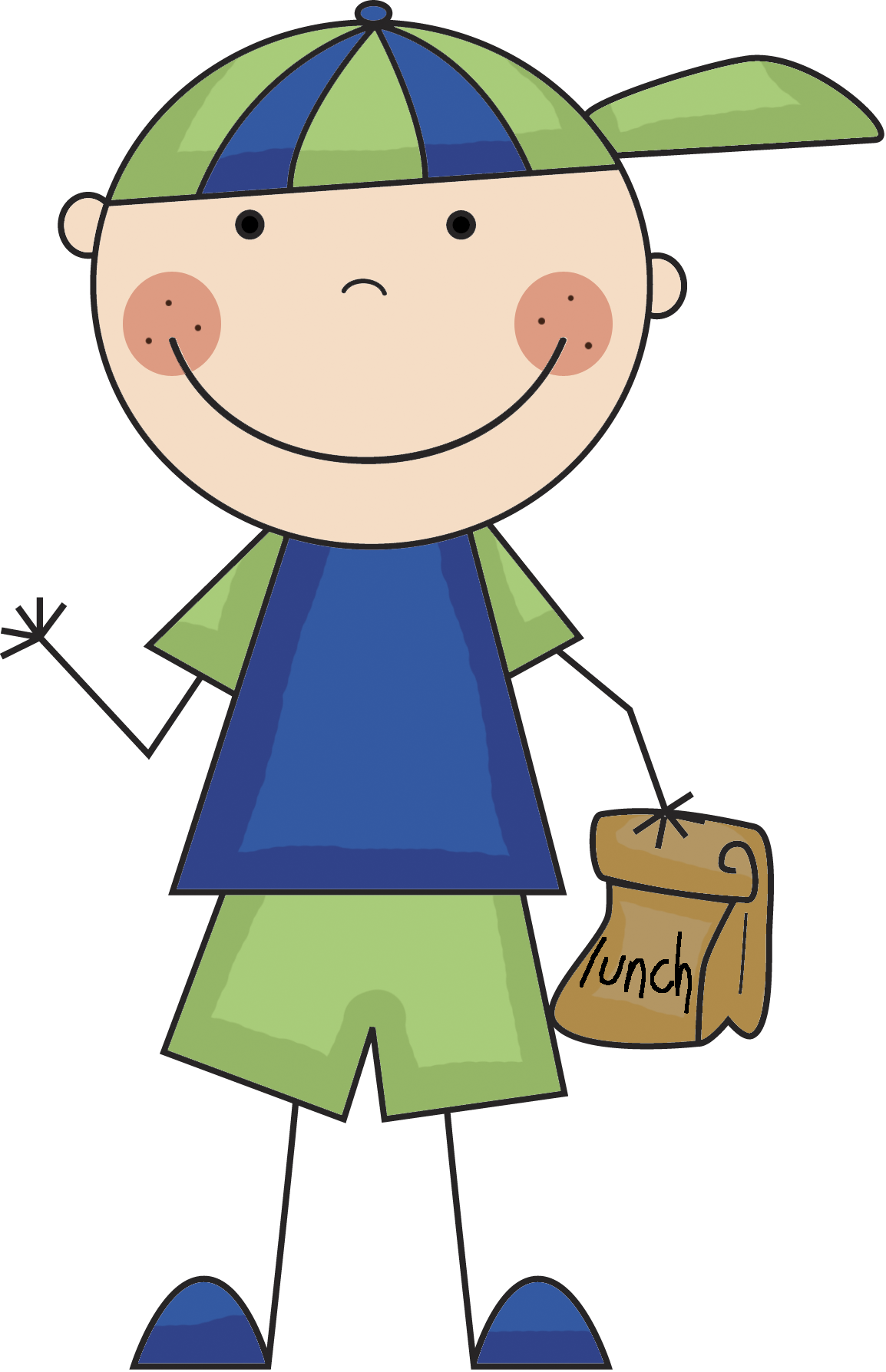 Happy school clipart transparent boy lunch png | Clip art | Pinterest | Lunches, Clip art and Clip ... transparent