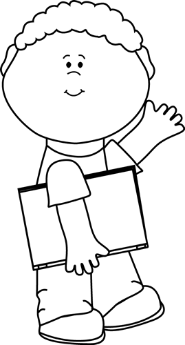 Boy at school clipart balck and white picture black and white library clip art black and white | Black and White Black and White Boy ... picture black and white library