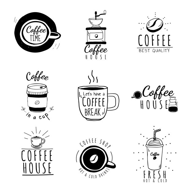 Boy at the coffee shop clipart black and white clip royalty free Coffee Shop Vectors, Photos and PSD files | Free Download clip royalty free