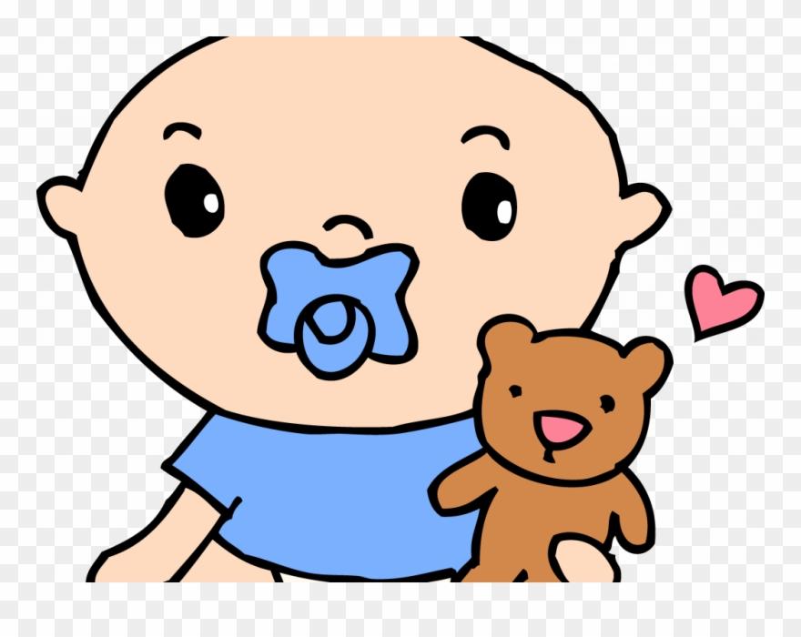 Boy baby clipart clip art Download Baby Clipart Boy - Baby With Pacifier Clipart - Png ... clip art