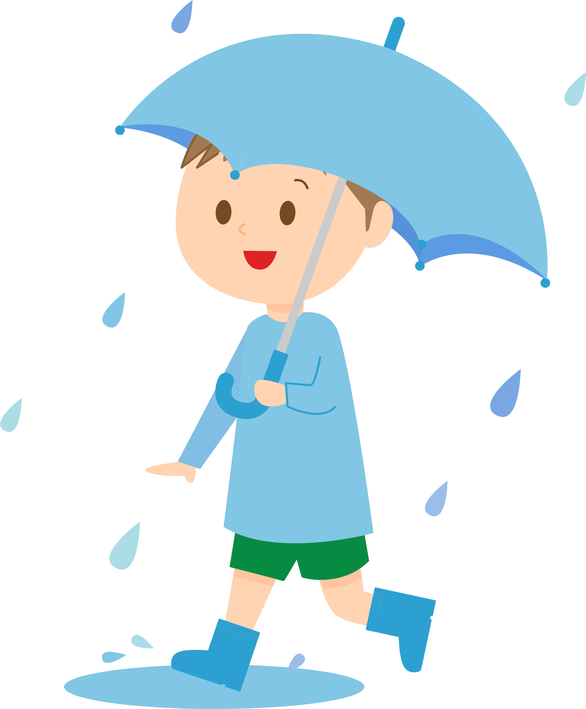 Kid baseball player clipart graphic free Boy With Umbrella Clipart & Boy With Umbrella Clip Art Images #3842 ... graphic free
