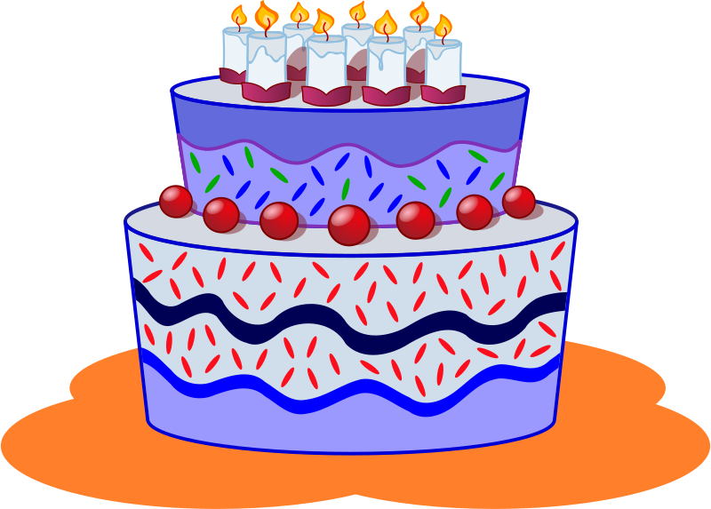 Boy birthday cake clipart picture free download Clipart - Cake picture free download