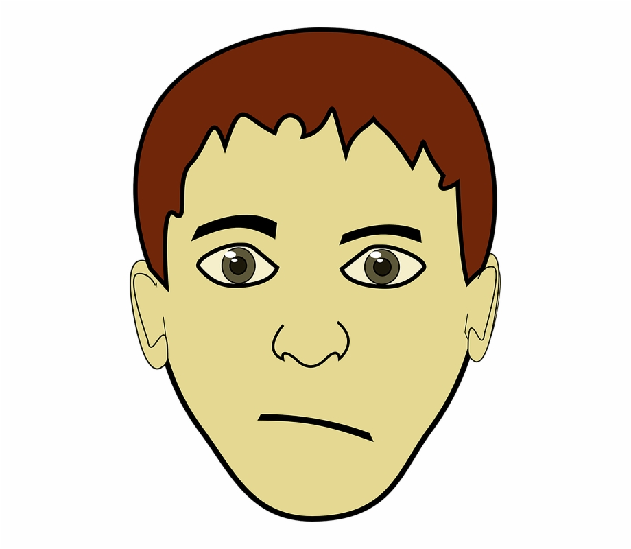 Boy brown eyes clipart graphic black and white download Boy Young Face Teenage Eyes Brown Guy Male - Short Brown Hair Boy ... graphic black and white download