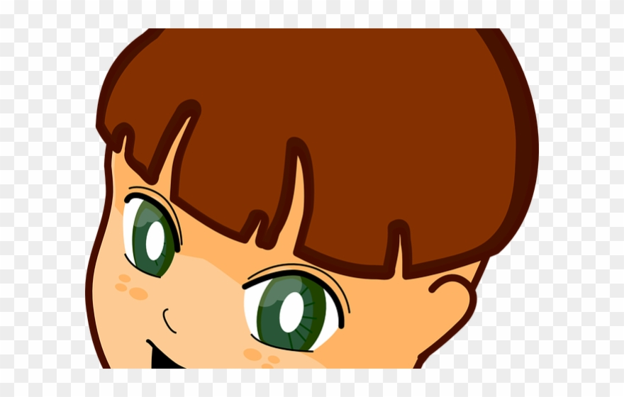 Boy brown eyes clipart graphic library Brown Eyes Clipart Child\'s - Boy Clip Art - Png Download (#835315 ... graphic library