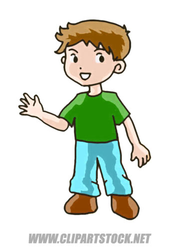 Boy clipart clipart svg library stock Little Boy Cartoon Clipart - Clipart Kid svg library stock
