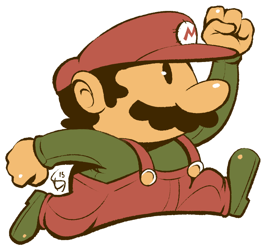 Boy eating apple clipart download Original Mario by Torkirby on DeviantArt download