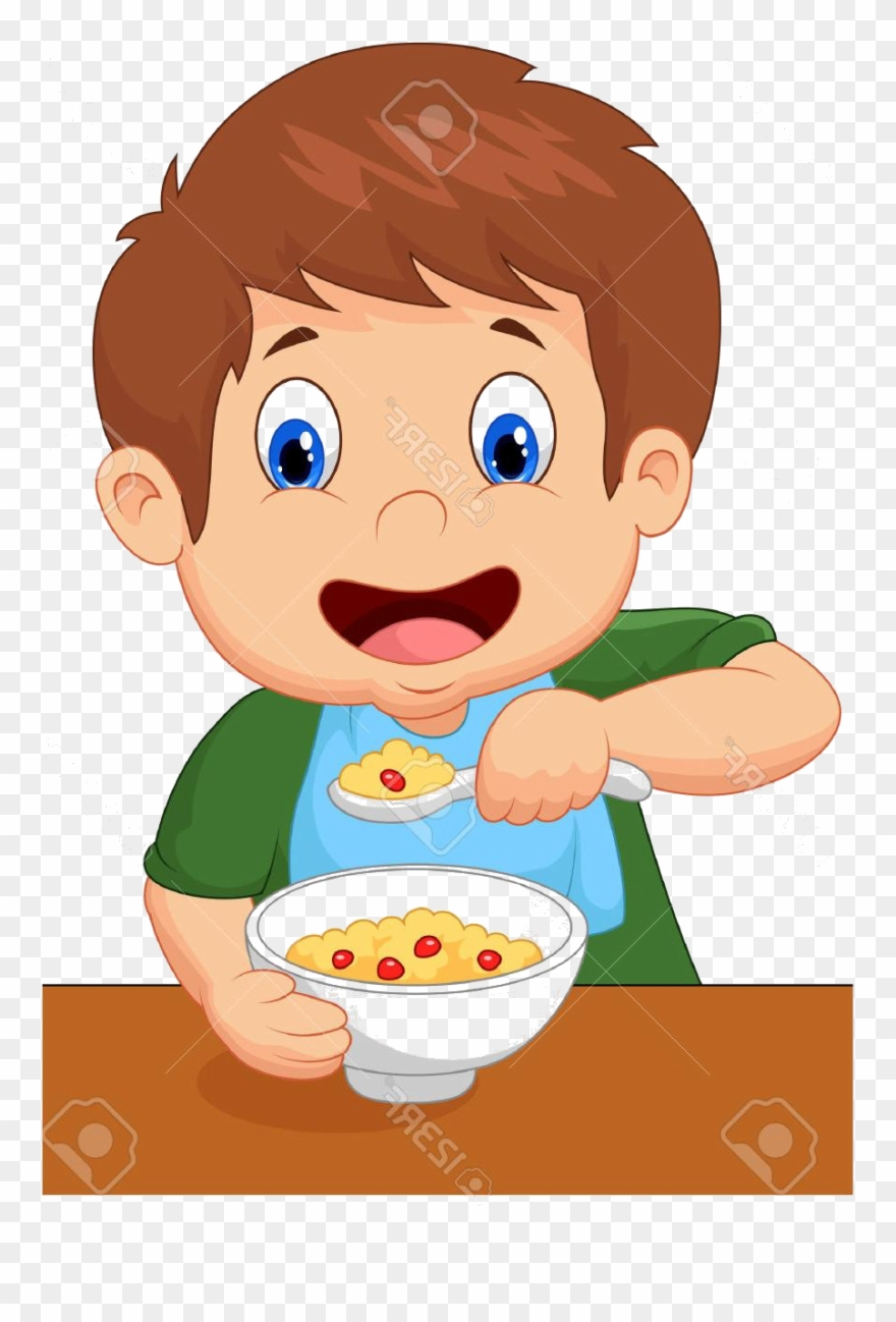 Boy eating breakfast clipart clip library Eat Breakfast Clip Art - Png Download (#2016764) - PinClipart clip library