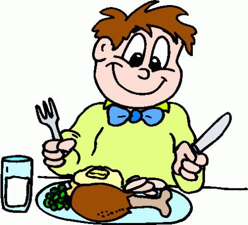 Boy eating dinner clipart library Free Healthy Dinner Cliparts, Download Free Clip Art, Free Clip Art ... library