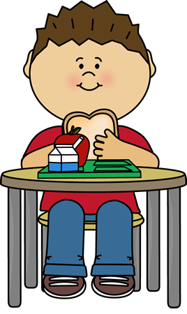 Boy eating dinner clipart vector library library Free Eating Lunch Cliparts, Download Free Clip Art, Free Clip Art on ... vector library library