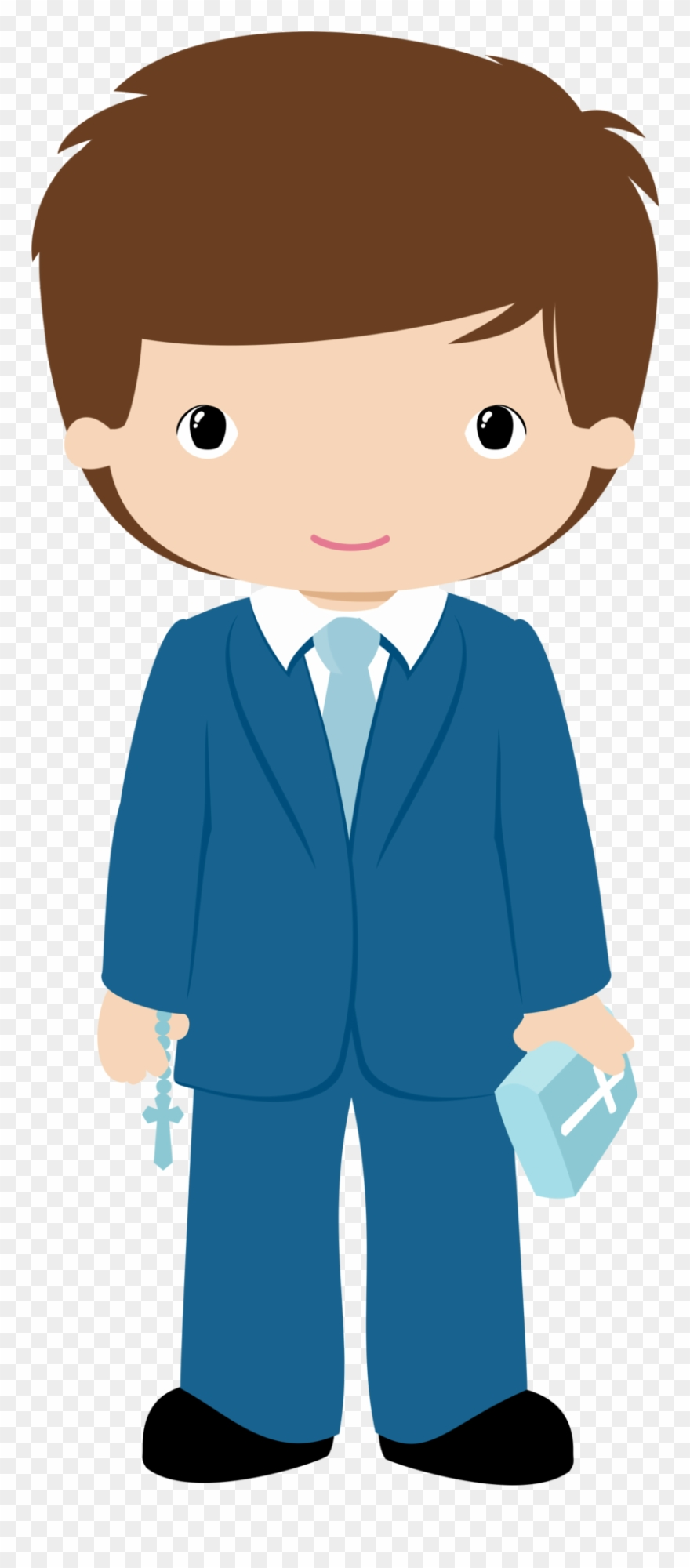 First communion boy clipart banner royalty free stock Vector Transparent Stock Boys In Their First - Clip Art Communion ... banner royalty free stock